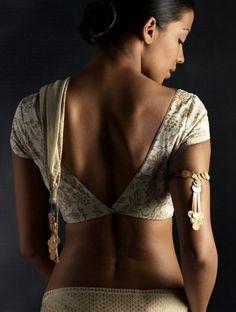 indian saree blouse patterns halter neck - Google Search