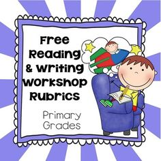 """FREE Generic Primary Reading, Writing Workshop, Rubrics, Printable Pages, Generic PDF'sFREEUse these pages for writing and reading workshop. These pages are great for being observed and having an answer to the question, """"How will you evaluate this lesson?"""" Student and teacher rubrics and story mapping drawing and writing page included."""