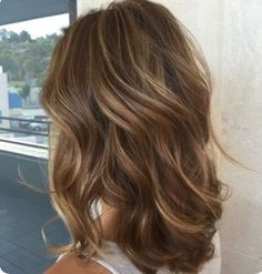Light Brown With Peeks.