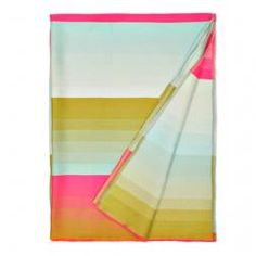 Biscuit Home : Multi Color Stripe Throw