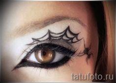 тату паук на паутине - фото готовой татуировки - 20122015 № 14