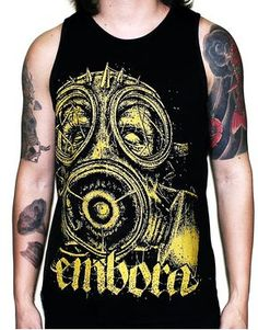 Camiseta Regata Embora Zombie Gas Mask
