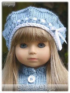 "Debonair Designs: FREE Knitting Patterns for 18"" Dolls"