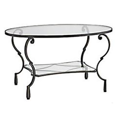Chasca coffee table, pier one.