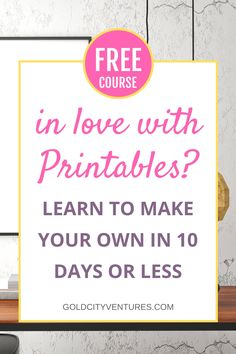 10 Day Challenge: How to Make Printables Inkscape Tutorials, Cricut Tutorials, Planner Pages, Printable Planner, Printable Designs, Free Printables, Etsy Business, Happy Planner, Making Ideas