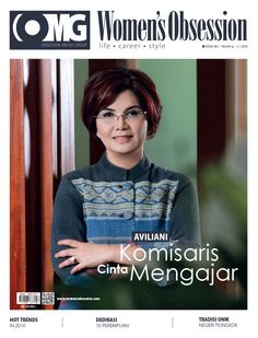 March 2016 issue with Aviliani, commissioner of Bank Mandiri on cover #aviliani #bankmandiri