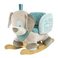 #Dzieci uwielbiają bujane #zabawki. Piesek Cyril jest też bezpieczny, gdyż posiada pasy bezpieczeństwa. Ciril, Nattou