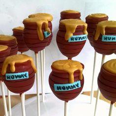 Winnie the Pooh honey jars