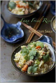 cauliflower rice cauli rice with fried onions and sumac cauliflower ...