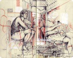 May Sketchbook- Blog-Pat Perry