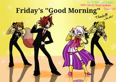 *sighs* Friday is always a good day...
