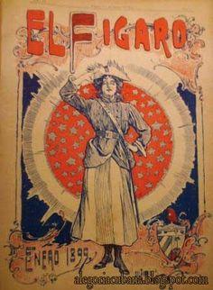Cuba mambisa, la primera de todas.  El Fígaro, 1899