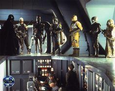 Vader, Dengar, IG-88, Boba Fett, Bossk, 4-lom, Zuckuss Scene from The Empire Strikes Back