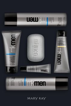 MKMen® Cooling After-Shave Gel, Face Bar, Advanced Facial Hydrator Sunscreen Broad Spectrum SPF Advanced Eye Cream, and Shave Foam. Mary Kay Lipstick, Mary Kay Makeup, Maquillage Mary Kay, Mk Men, Mary Kay Inc, Mary Kay Brasil, Selling Mary Kay, Mary Kay Party, Mary Kay Cosmetics