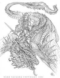 Dragon Riders Colouring In You'll Love