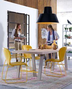gekleurde eettafel stoelen - Google zoeken