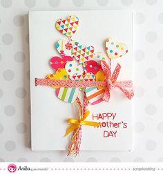 tarjeta felicitaciÓn dia de la madre paso a paso