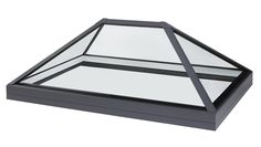 30 degree low pitch roof lantern to reduce height. Structurally bonded roof lantern rooflight and skylights for flat roof applications. Frameless glass roof light design with prices from Pergola With Roof, Patio Roof, Diy Pergola, Pergola Shade, Pergola Ideas, Pergola Kits, Cheap Pergola, Retractable Pergola, Covered Pergola