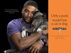 Men Pose With Cute Pups For Animal Rights