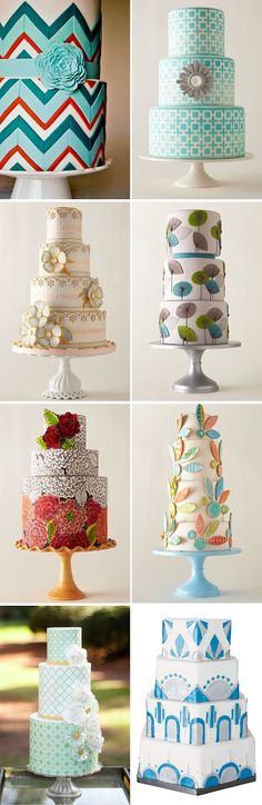 Wallpaper Love. Wedding Cake Inspiration.