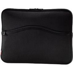Gezien op Beslist.nl: Hama Notebook Sleeve Comfort 13.3 Zwart