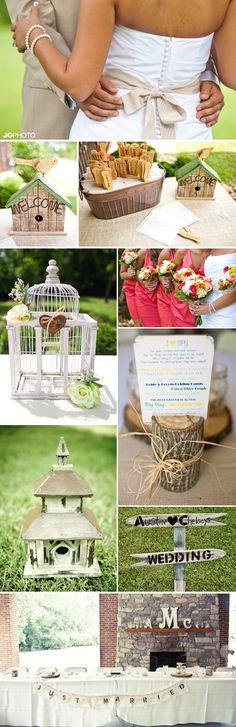 Reminiscing Lovebird themed weddings