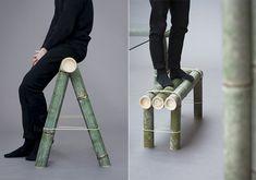 Soba: mobiliario de bambú de Stefan Diez para Japan Creative
