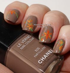 Particulary for Particuliere - fall nail art