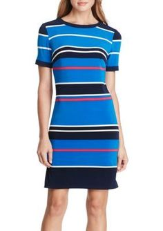 American Living   Striped Jersey Dress