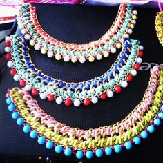 www.lilirodriguez.com,  collar, colar, necklace, diy, handmade