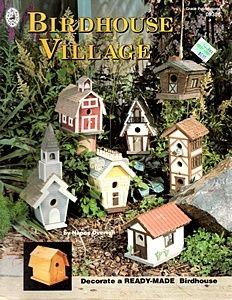 Birdhouse Village--Decorate a Ready-Made Birdhouse