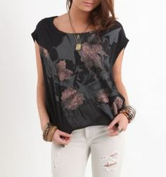 Womens Volcom Tee - Volcom Lucid Lips T-Shirt - Pacific Sunwear United States | Lockin Deals