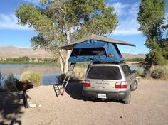 Forester Tent Topped with an Ayer model tent unit