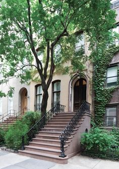 New York Brownstones never fail to inspire