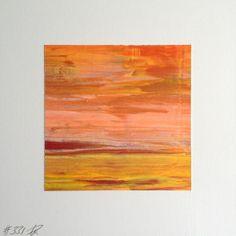 #331 | square abstract painting (original) | acrylic on white board | size 9 cm x 9 cm | boardsize 15 cm x 15 cm | https://www.etsy.com/shop/quadrART