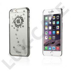 Dirose (Sort Blomst) iPhone 6 Cover