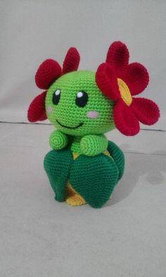 Bellossom pokemon plushie amigurumi by onlyifitsfluffy on deviantart Pokemon Crochet Pattern, Crochet Amigurumi Free Patterns, Crochet Animal Patterns, Crochet Dolls, Cute Crochet, Crochet Crafts, Crochet Projects, Crochet Dragon, O Pokemon