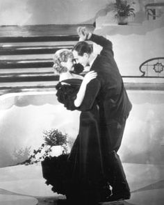 Fred Astaire and Ginger Rogers in Flying Down to Rio, 1933. First dancing picture together.