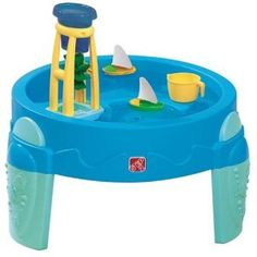 Water wheel and water table. $36.49 on Amazon
