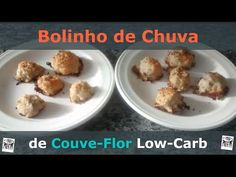 Bolinho de Chuva Salgado de Couve-Flor e Parmesão (Low-Carb) - YouTube