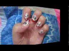 new video up new year's eve nail art collab with Aoana nail art