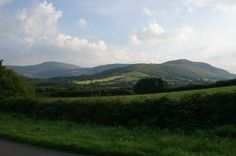 The Black Mountains, Brecon Beacons, Wales