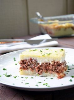 Authentic Madalena - Brazilian Style Meat and Potatoes Pie. Similar to the Shepherd's ..., ,