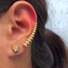 Roseark #Gold #EagleHeadStud #MelissaKaye #Jewelry #Love