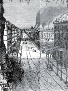 Historia Urbana de Madrid: La antigua calle Serrano del Barrio de Salamanca