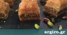 Baklava of Argyros Greek Sweets, Food Categories, Greek Recipes, Food Processor Recipes, Sweet Tooth, Deserts, Food And Drink, Healthy Recipes, Snacks