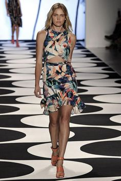 REPIN this Nicole Miller look and it could be yours to rent next season on Rent the Runway! #RTRxNYFW