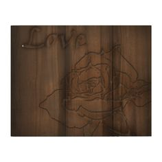 The wood carved rose with the word love above it, I found on an old table. Multiple sizes are available. Great for home or office decor. Also a great gift idea for holidays, birthdays, anniversary, and house warming.