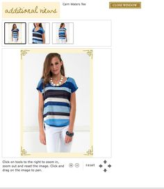 This is a great top you can find at Francesca's Collections