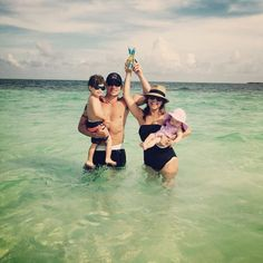 Nick and Vanessa Lachey Hit the Beach With Son Camden, Baby Daughter Brooklyn—See the Pic!  Nick Lachey, Vanessa Lachey, Brooklyn Lachey, Camden Lachey, Instagram